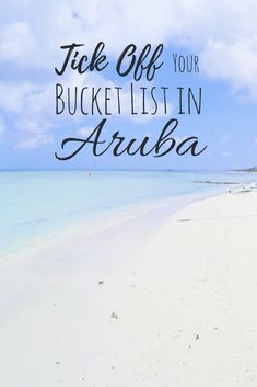 Cool things to do in Aruba - If you thought you could relax in Aruba - you got it all wrong!
