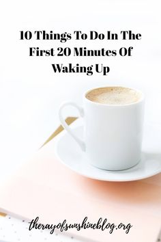 10 things to do in the first 20 minutes of waking up: morning routine ideas Ways To Wake Up, How To Wake Up Early, Stuff To Do, Things To Do, Some People Say, Feeling Sad, Work From Home Moms, Self Development, Personal Development