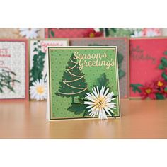 Florartistry Fabulous Folding Flowers and Stamens Large and Small Christmas Dies Collection with Papers No Colour Create And Craft, Cardmaking, Journaling, Festive, Scrapbooking, Seasons, Colour, Paper, Flowers