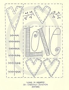 embroidery patterns heart - Cerca con Google