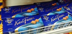 Fazerin Sininen - Why You Should Try It: It's practically a part of the Finnish identity and hands down the best milk chocolate you'll ever taste. | 17 Iconic Finnish Snacks You Need In Your Mouth Right Now