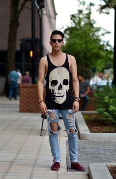 Summertime street wear… by WAC Ave // yeahTHATgreenville