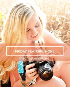 Hope is a young and ambitious follower of Christ who turned her passion into a business. Head to the site to read her inspirational interview!