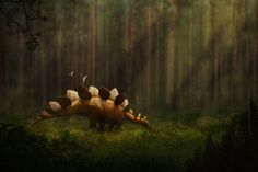 Stegosaurus by Julio Lacerda for Earth Archives