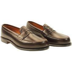 Alden Men's Leisure Handsewn Dark Brown Grain Calfskin Style #: 67190