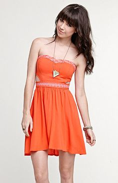Roxy Embroidered Cutout Dress at PacSun.com