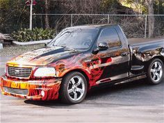 ford lightning | ford lightning Svt Lightning, Ride The Lightning, Ford Svt, Car Ford, Cool Trucks, Cool Cars, Ford Lighting, Ford Harley Davidson, Old Muscle Cars