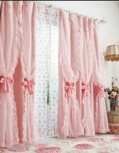 Cute curtains fit for my princess