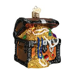 Treasure Chest Ornament from TheHolidayBarn.com