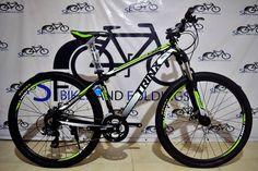 "TRINX C520 Big 7 Mountain Bike Php 7,700  Specs: Frame: 16"" Alloy Fork: Trinx Alloy Hydraulic Lock-out  Shifter: Shimano ST-EF500 3x8 Speed FD: Shimano Tourney RD: Shimano Tourney Brake: Mechanical Brake  Chainwheel: Prowheel Tires: Kenda 27.5x2.10 #bicyclehobbies  #bikeaccessories  #cycleisfun  #cycleforlife"