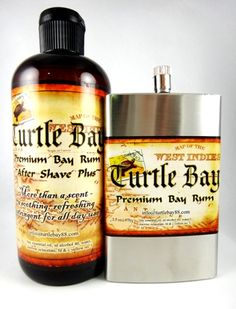 We are very excited to offer the NEW Turtle Bay Premium Bay Rum products to our ever growing line of Bay Rums. From Ventura, California - This refreshing Aftershave Plus, with Bay Rum essential oil, is just the thing to cool and refresh after shaving or at any time of the day.