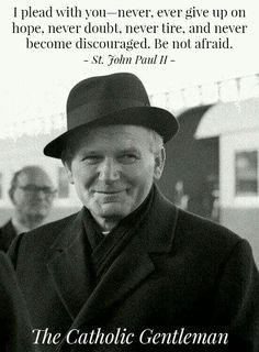 Karol Wojtyla knows how to wear a hat. Catholic Quotes, Catholic Prayers, Catholic Saints, Religious Quotes, Roman Catholic, Papa Juan Pablo Ii, Catholic Gentleman, Pope John Paul Ii, Paul 2