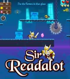 Go on a reading adventure with Sir Readalot. Skills include context clues, drawing conclusions, fact and opinion, and syllables. Context Clues Games, Clue Games, Reading Adventure, Fact And Opinion, Drawing Conclusions, Most Played, Educational Games For Kids, Syllable, Homeschool