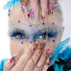 Rio carnival queen nail photo contest for Yournails magazine