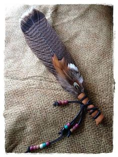 RESERVED - Turkey Smudge Feather