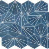Dandelion – marine/bone (12mm thick)   MarrakechDesign
