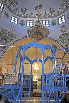 Old Synagogue in Safed Israel