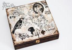 Marilyn Monroe jewelry box wooden box jewelry by ByRoxanaRusu