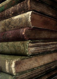 .The smell of old books.