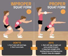 Have you mastered your #squat form? You don't want an unnecessary injury! #squatsfordays https://www.fix.com/blog/master-proper-workout-form/