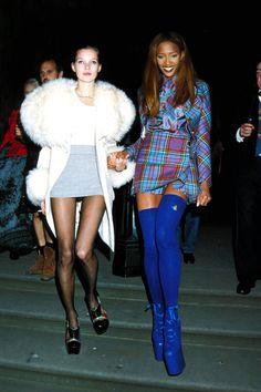 In Photos: Naomi & Kate's Supermodel Friendship   - HarpersBAZAAR.com