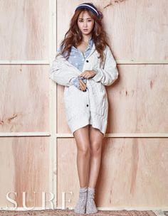 Yuri SNSD Girls Generation Sure November 2015