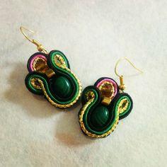 Серьги из сутажа #earrings#soutache