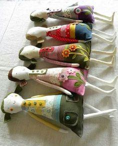 Tinsel Fairy Rag Doll   :)