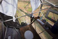 Sleep On The Side Of A Mountain In These Vertigo-Inducing Pods | Co.Design | business + design