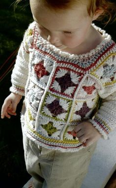 Unique crochet sweat