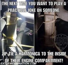 Funny pictures, gifs, memes, and all things comedy from around the internet. If you're a fan of comedy and you need a good laugh, you're in the right spot. Car Jokes, Car Humor, Car Guy Memes, Funny Pranks, Funny Jokes, Funny Gifs, Videos Funny, Viral Videos, Humour Ch'ti