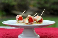 Prosciutto-wrapped+Cherry+Tomatoes,+Mozzarella,+and+Basil+Bites