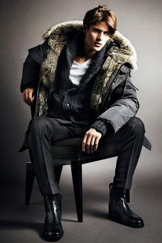 Tom Ford Men's A/W '14 look book