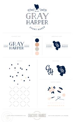 Gray Harper branding by Gracious Brands