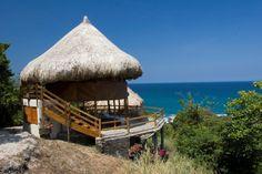 Ecohabs, Cañaveral Beach, Tayrona Park, Santa Marta, Colombia