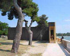'Your Blackberry horizon' pavilion in Venice by David Adjaye & Olafur Eliasson