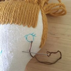 Embroidered doll eyes | wee wonderfuls