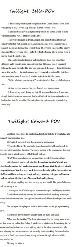 Twilight Saga ~ Edward and Bella
