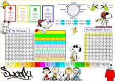Snoopy Maths Mat                                                                                                                                                                                 More
