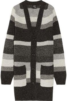 0df223158b McQ Alexander McQueen Striped wool cardigan Knitwear Sale, Discount  Designer Clothes, Designer Clothes Sale