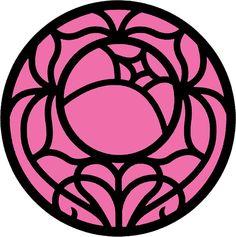 'Revolutionary Rose Crest' Sticker by hanyaan Rose Tattoos, Girl Tattoos, Tatoos, Greek Pottery, Pottery Art, Anime Was A Mistake, Revolutionary Girl Utena, Kawaii Tattoo, Makeup Package