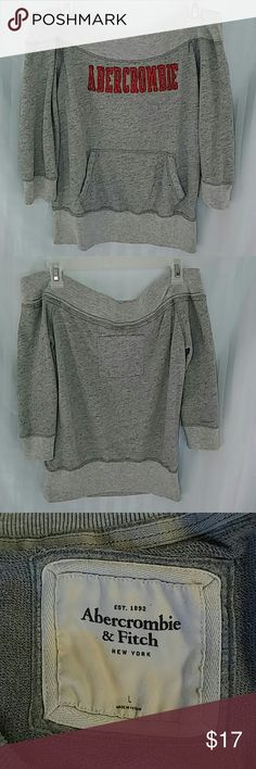 Vintage Abercrombie & Fitch sweater Large Abercrombie & Fitch sweater Vintage from early 2000's size Large. I live this sweater it's soft and soooo comfortable! Barely worn in perfect condition. Abercrombie & Fitch Sweaters