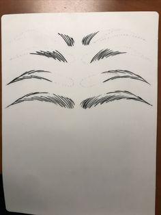 Microblading EyebrowsFillIn EyebrowsFillIn Microblading is part of eye-makeup - eye-makeup Eyebrows Sketch, Mircoblading Eyebrows, How To Draw Eyebrows, Permanent Makeup Eyebrows, Semi Permanent Makeup, Eyebrow Makeup, Eyelashes, Doodle Drawing, Eyebrow Design