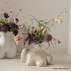 This product is available for pre-order. Please email info@anissakermiche.com for further information and to place a pre-order. Decorate your space with our supersized 'cheeky' vase. Finished with a smooth surface and accented with two small handles, the derrière-shaped piece can be filled with flowers or simply apprec Ceramic Vase, Ceramic Pottery, Pottery Art, Glazed Ceramic, Ceramic Decor, Pottery Painting, Pottery Bowls, Pottery Ideas, Ceramic Painting