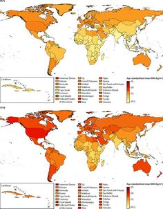 1975 vs 2014: Is the world getting too fat, by the World Economic Forum
