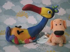 *SORRY, no information as to product used ~ Kevin & Dug - Up - Altas Aventuras by Andreia Akita