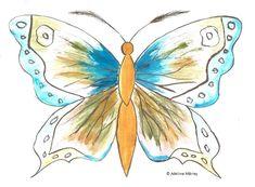 SCHITE FLUTURI | Adelina Mărieş - design Rooster, Artist, Artwork, Design, Painting, Animals, Work Of Art, Animaux, Painting Art