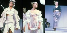 Vogue's 125 Most Memorable Fashion Shows of All Time -John Galliano, Spring 1985