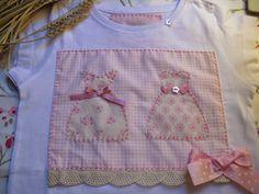 Alecrim e Alfazema: A camisola da Martinha, também muito simples!!!