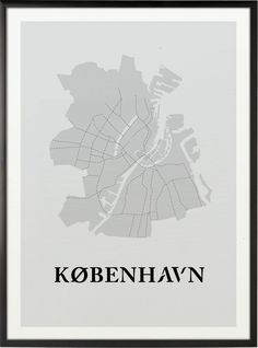 København Poster Some Beautiful Images, City Maps, Graphic Design Posters, My Heritage, Copenhagen, Home Art, Paper Art, Free Printables, Drawings
